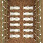 wesela sala redutowa bielsko biała układ sali rzędy stołów